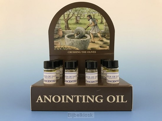 Display anointing oil uscented set12
