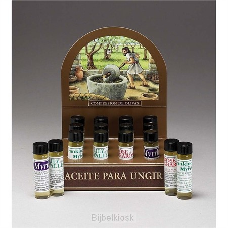 Display anointing oil ass 3 scents set12